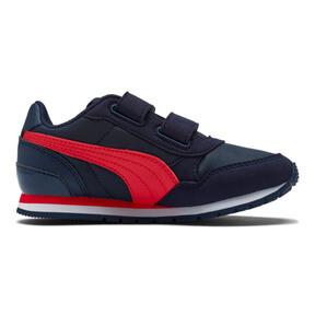 Thumbnail 5 of ST Runner v2 Little Kids' Shoes, Peacoat-Ribbon Red, medium