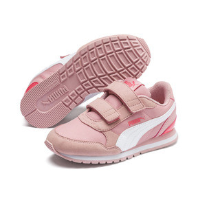 Thumbnail 2 of ST Runner v2 Little Kids' Shoes, Bridal Rose-Puma White, medium