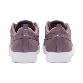 Thumbnail 4 of Smash v2 Suede Women's Sneakers, Elderberry-Silver-Puma White, medium