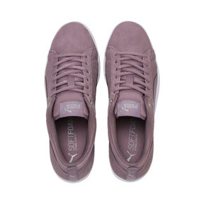 Thumbnail 6 of Smash v2 Suede Women's Sneakers, Elderberry-Silver-Puma White, medium