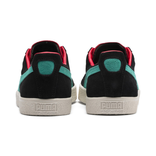 Clyde From The Archive Sneakers, HigRskRed-P Blk-Whspr Wht, large