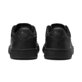 Thumbnail 3 of PUMA Smash v2 Leather Sneakers PS, Puma Black-Puma Black, medium