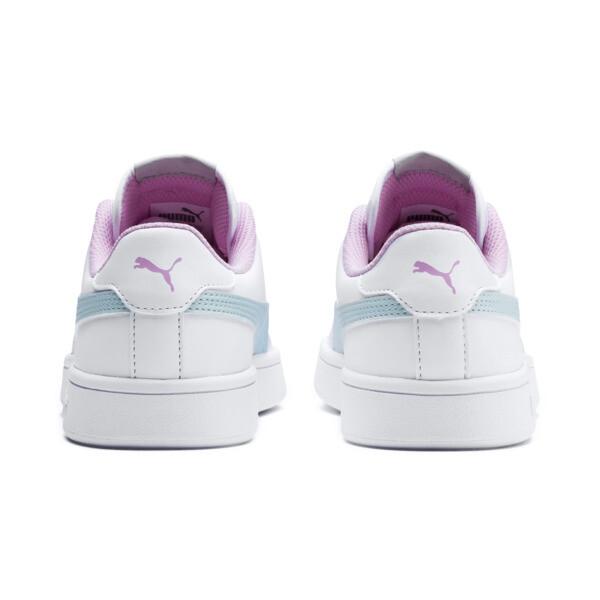 Smash v2 L Kids' Trainers, White-Fair Aqua-Pale Pink, large