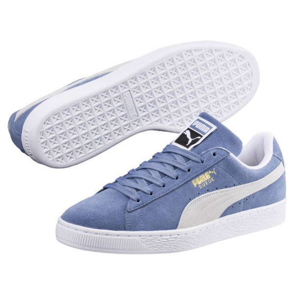 Suede Classic Trainers, Infinity-Puma White, large