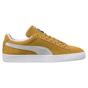 Thumbnail 3 of Suede Classic Sneakers, Honey Mustard-Puma White, medium