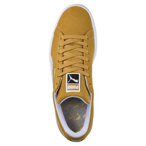 Thumbnail 5 of Suede Classic Sneakers, Honey Mustard-Puma White, medium