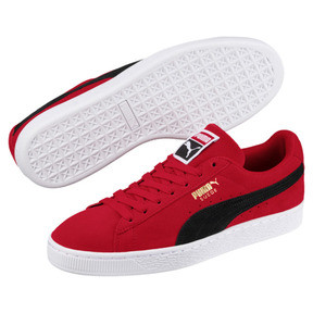 Thumbnail 2 of Suede Classic, Ribbon Red-Puma Blk-Puma Wht, medium