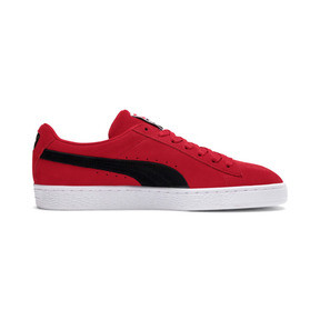 Thumbnail 5 of Suede Classic Trainers, Ribbon Red-Puma Blk-Puma Wht, medium