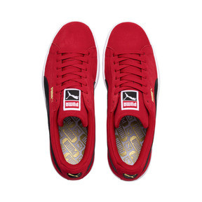 Thumbnail 6 of Suede Classic Trainers, Ribbon Red-Puma Blk-Puma Wht, medium