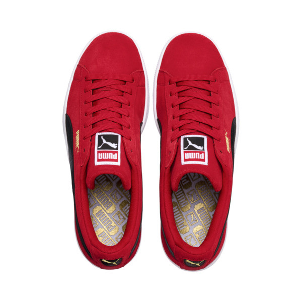 Suede Classic Sneakers, Ribbon Red-Puma Blk-Puma Wht, large
