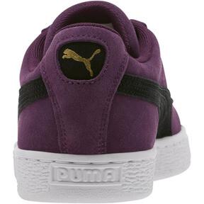 Thumbnail 4 of Suede Classic Sneakers, Shadow Purple- Black-White, medium