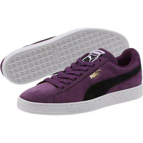 Thumbnail 2 of Suede Classic Sneakers, Shadow Purple- Black-White, medium