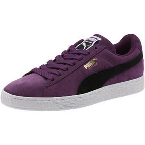 Thumbnail 1 of Suede Classic Sneakers, Shadow Purple- Black-White, medium