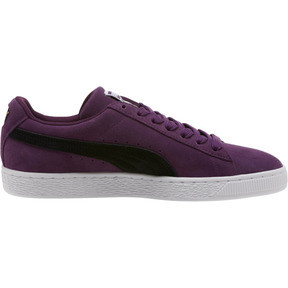 Thumbnail 3 of Suede Classic Sneakers, Shadow Purple- Black-White, medium