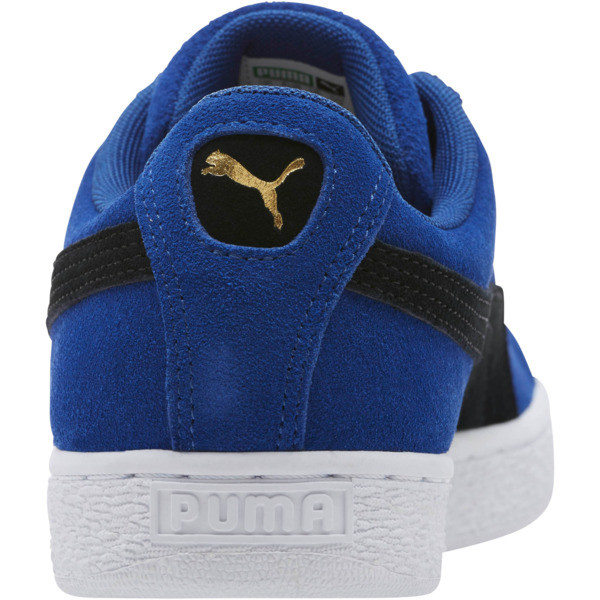 Suede Classic Sneakers, Sodalite Blue- Black-White, large