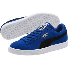 Thumbnail 2 of Suede Classic Sneakers, Sodalite Blue- Black-White, medium