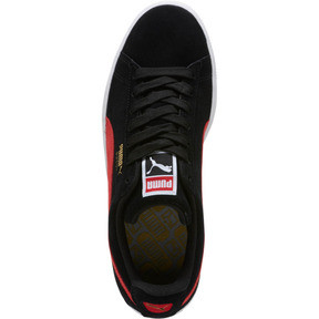 Thumbnail 5 of Suede Classic Sneakers, Black-Ribbon Red-Gold, medium