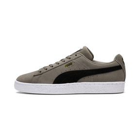 Thumbnail 1 van Suede Classic Trainers, Antracietgrijs-Puma Black, medium
