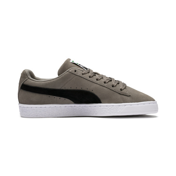 Suede Classic Trainers, Antracietgrijs-Puma Black, large