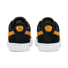 Thumbnail 4 of Suede Classic, Puma Black-Orange Pop, medium