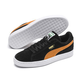 Thumbnail 3 of Suede Classic, Puma Black-Orange Pop, medium