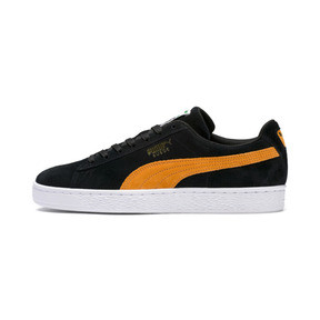Thumbnail 1 of Suede Classic, Puma Black-Orange Pop, medium