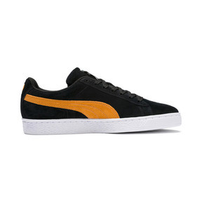 Thumbnail 6 of Suede Classic, Puma Black-Orange Pop, medium