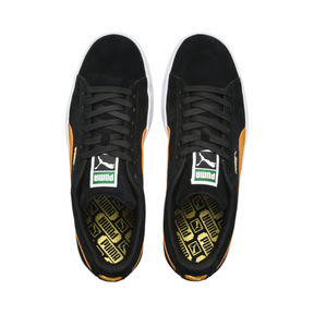 Thumbnail 7 of Suede Classic, Puma Black-Orange Pop, medium