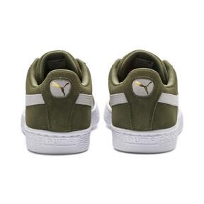Thumbnail 4 of Suede Classic Sneakers, Olivine-Puma Black, medium