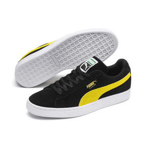 Thumbnail 2 of Suede Classic, Puma Black-Blazing Yellow, medium