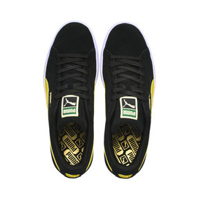 Thumbnail 6 of Suede Classic, Puma Black-Blazing Yellow, medium