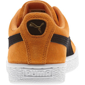 Thumbnail 3 of Suede Classic Sneakers, Orange Pop-Puma Black, medium