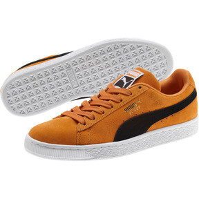 Thumbnail 2 of Suede Classic Sneakers, Orange Pop-Puma Black, medium