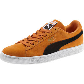Thumbnail 1 of Suede Classic Sneakers, Orange Pop-Puma Black, medium