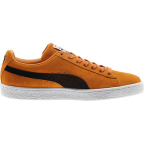 Thumbnail 4 of Suede Classic Sneakers, Orange Pop-Puma Black, medium