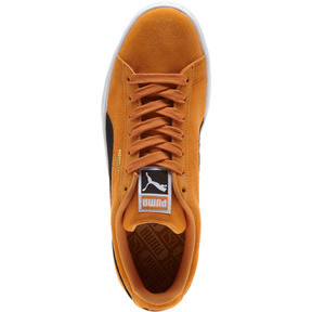 Thumbnail 5 of Suede Classic Sneakers, Orange Pop-Puma Black, medium