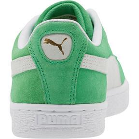 Thumbnail 3 of Suede Classic Sneakers, Irish Green-Puma White, medium