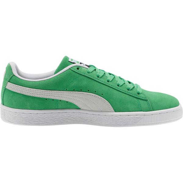 Suede Classic Sneakers, Irish Green-Puma White, large