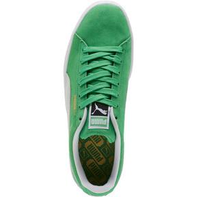 Thumbnail 5 of Suede Classic Sneakers, Irish Green-Puma White, medium