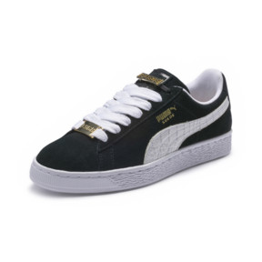 Thumbnail 1 of Suede Classic B-BOY Fabulous Trainers, Puma Black-Puma White, medium