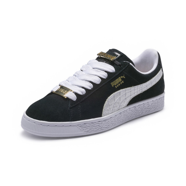 Suede Classic B-BOY Fabulous Trainers, Puma Black-Puma White, large