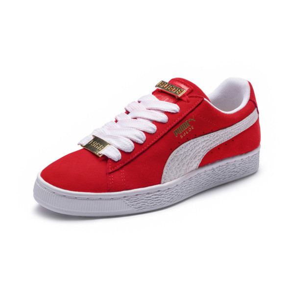 best sneakers d2e8f bee4e Suede Classic B-BOY Men s Sneakers, Flame Scarlet-Puma White, large