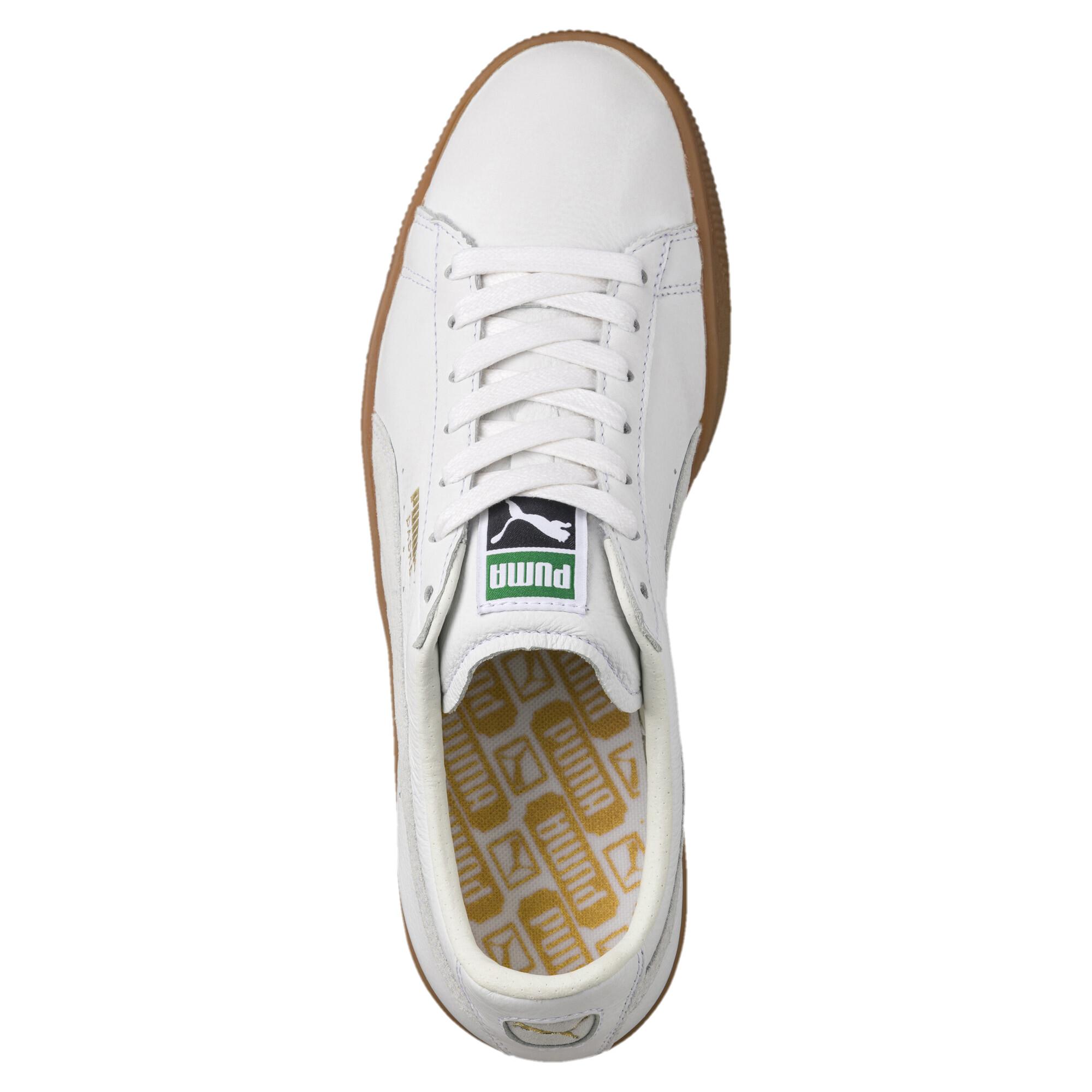 Image Puma Men's Basket Classic Gum Deluxe Sneakers #5