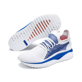 Thumbnail 2 of Basket TSUGI NETFIT v2, Strong Blue-Puma White, medium
