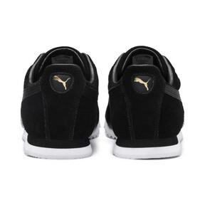 Thumbnail 4 of Roma Suede Sneakers, Puma Black-Puma Black, medium