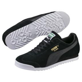 Thumbnail 2 of Roma Suede Sneakers, Puma Black-Puma Black, medium