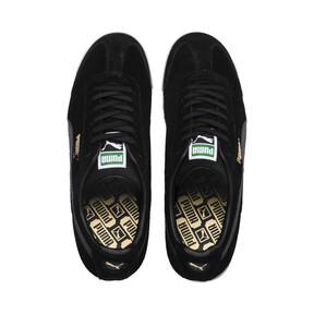 Thumbnail 6 of Roma Suede Sneakers, Puma Black-Puma Black, medium