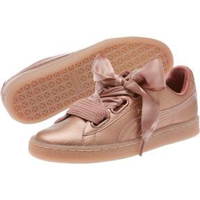 Thumbnail 2 of Basket Heart Copper Women's Sneakers, Copper Rose, medium
