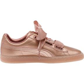 Thumbnail 3 of Basket Heart Copper Women's Sneakers, Copper Rose, medium