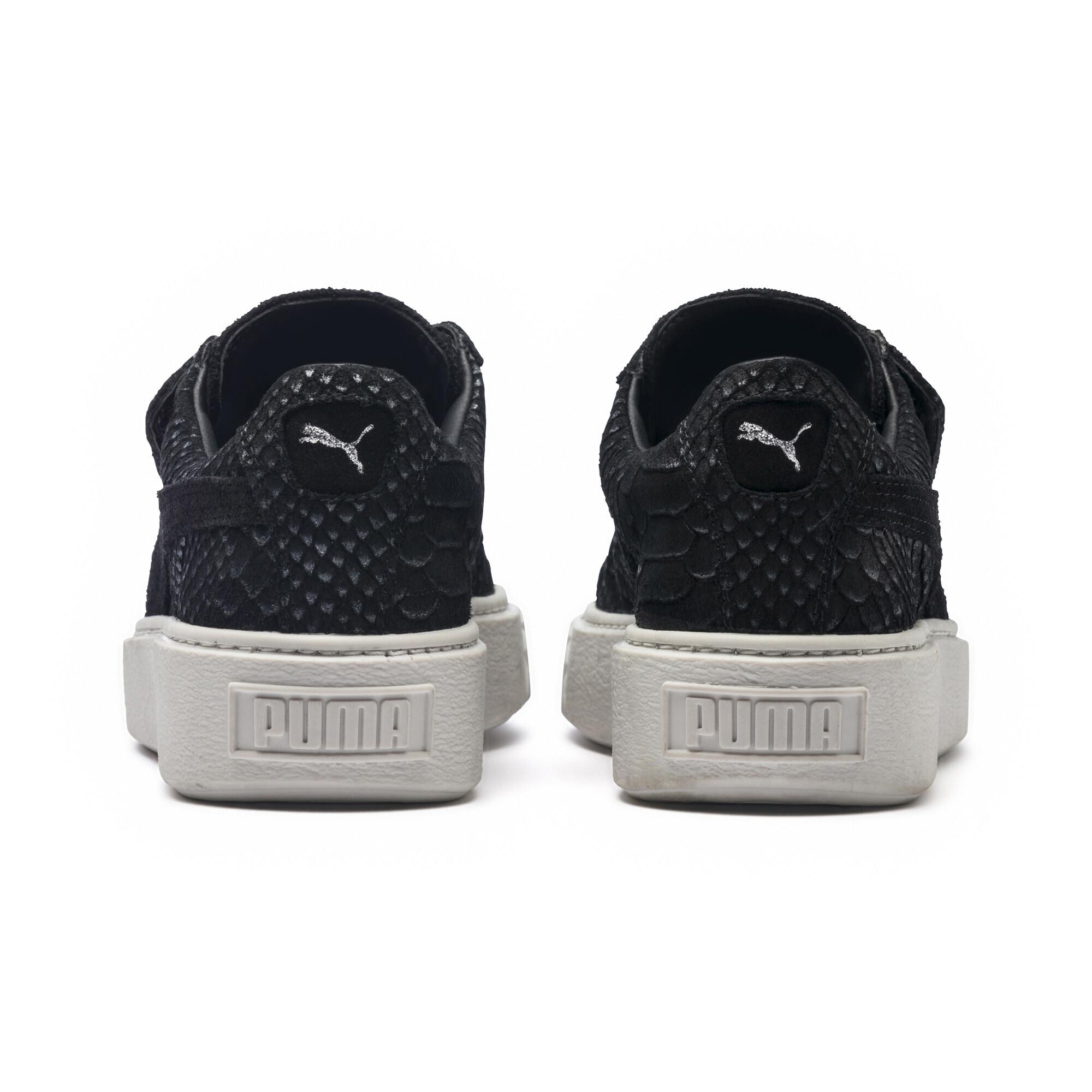 Image Puma Women's Platform Strap Sea Sneakers #4